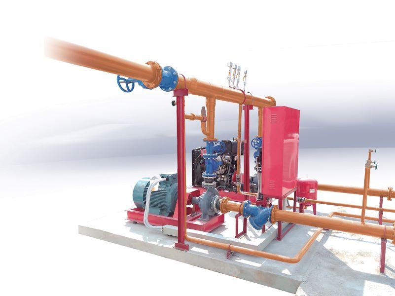 Nguyên lý hoạt động của hệ thống bơm chữa cháy